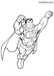Gratis Kleurplaten Superman.Superman Kleurplaat Google Zoeken Superman Kleurplaten