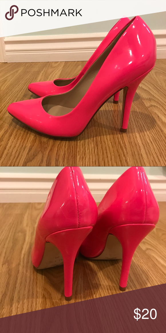 f4830a6d1 Pink high heels Pointed toe hot pink heels from Aldo. Barely worn, look brand  new! Aldo Shoes Heels