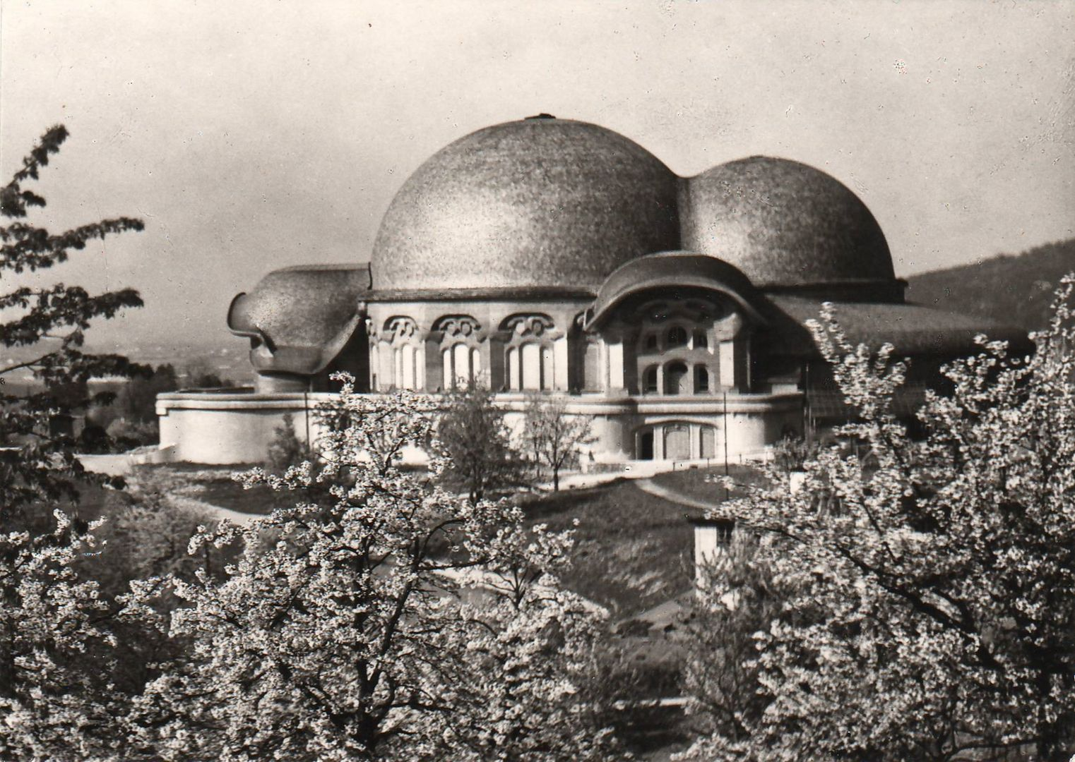 Steiner, Rudolf - Erstes Goetheanum, Dornach (First Goetheanum ...