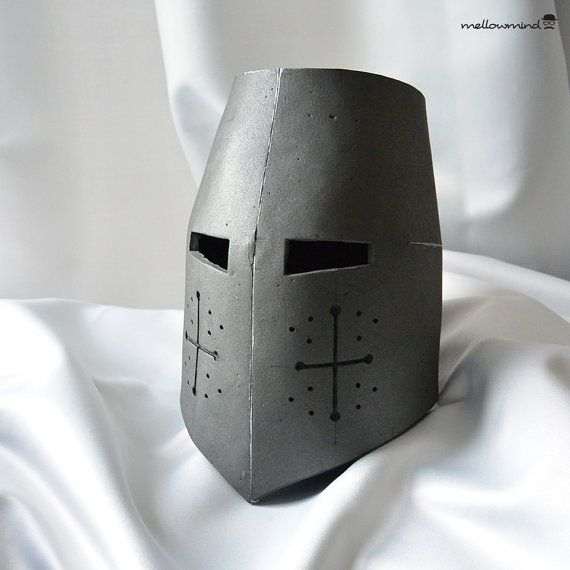 DIY Knight Helmet Template for EVA foam - version A | Cosplay ...
