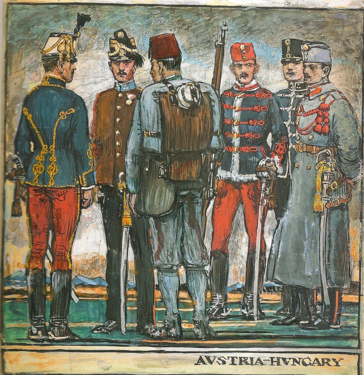 940b728015 MINIATURAS MILITARES POR ALFONS CÀNOVAS  UNIFORMES DE AUSTRIA-HUNGRIA