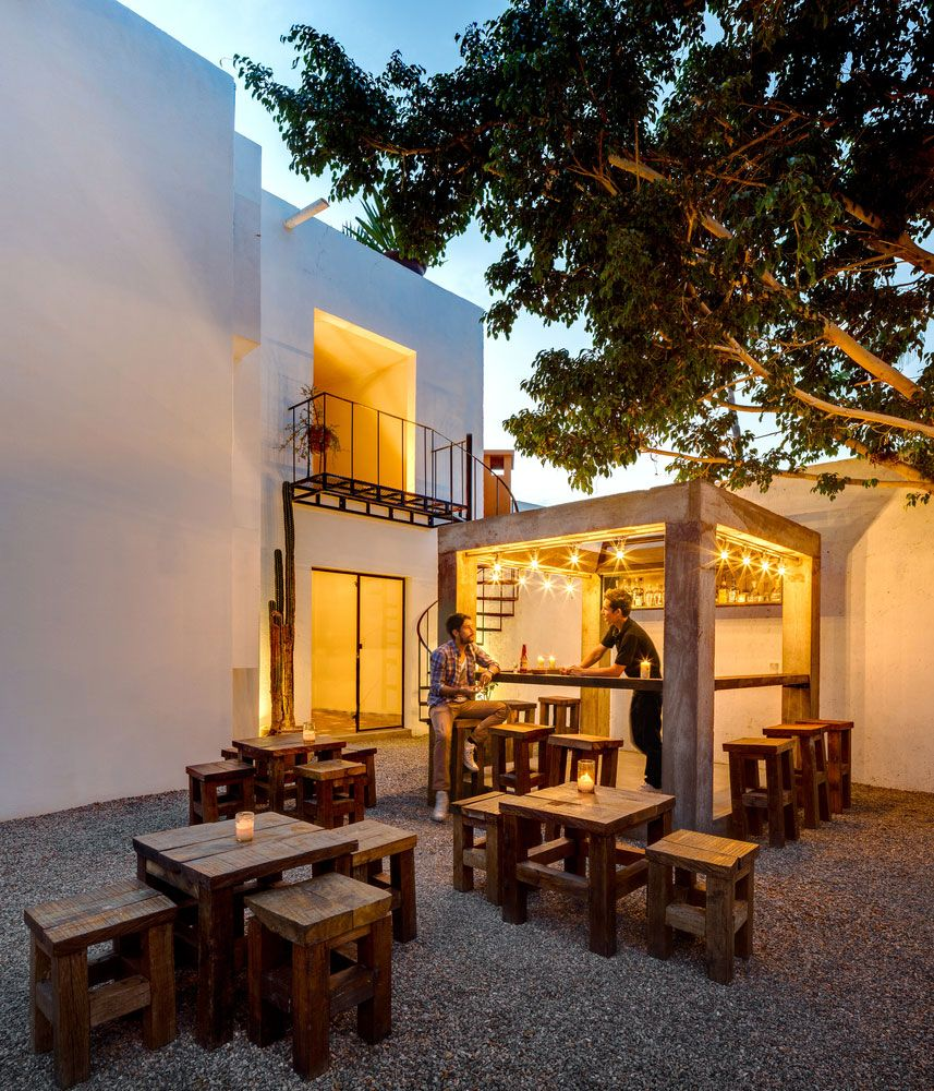 Wonderful Remodeling Of A Hotel Located In Mexico´s Lower