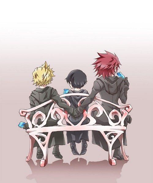 Kingdom Hearts 358 2 Days 1401040 Zerochan キングダムハーツ アクセル かわいいイラスト キングダムハーツ イラスト