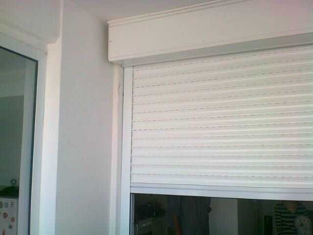 Persiana exterior en balc n sin necesidad de obra for Cortinas para balcones exteriores