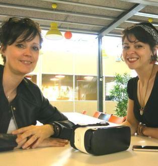 """"""" Je ne voulais plus offrir du paraître, mais du bien-être """" Lauréate du Start-up week-end spécial e-santé en mai, Sandra Benoît a imaginé un casque d'immersion sensorielle pour patient en chimiothérapie."""