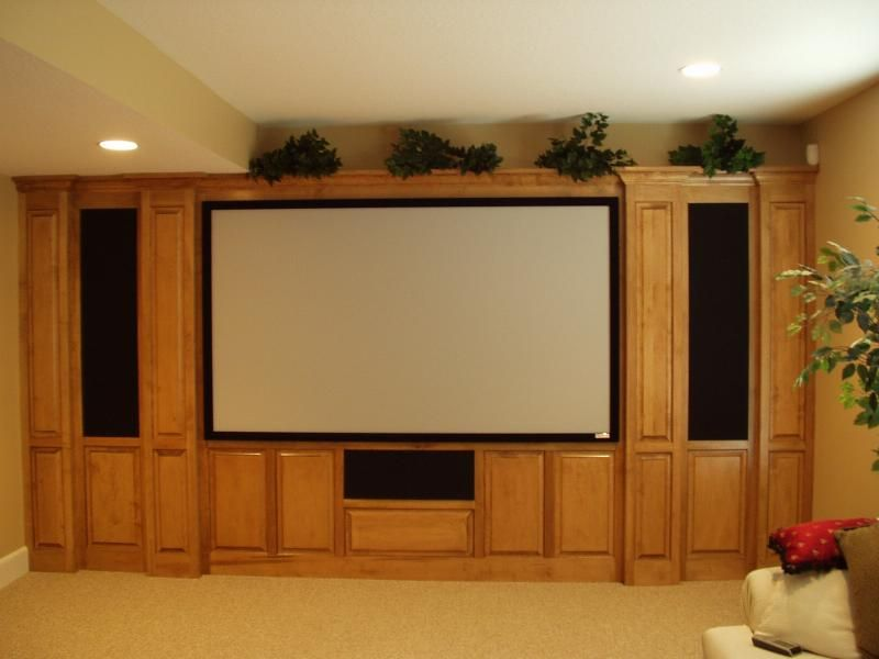 Custom Home Theater Cabinets