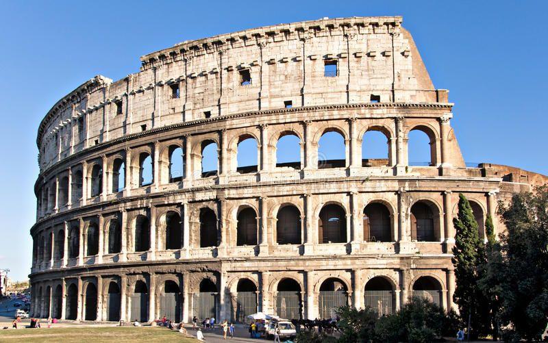 Colosseum Rome A View Of The Colosseum Ad Rome Colosseum