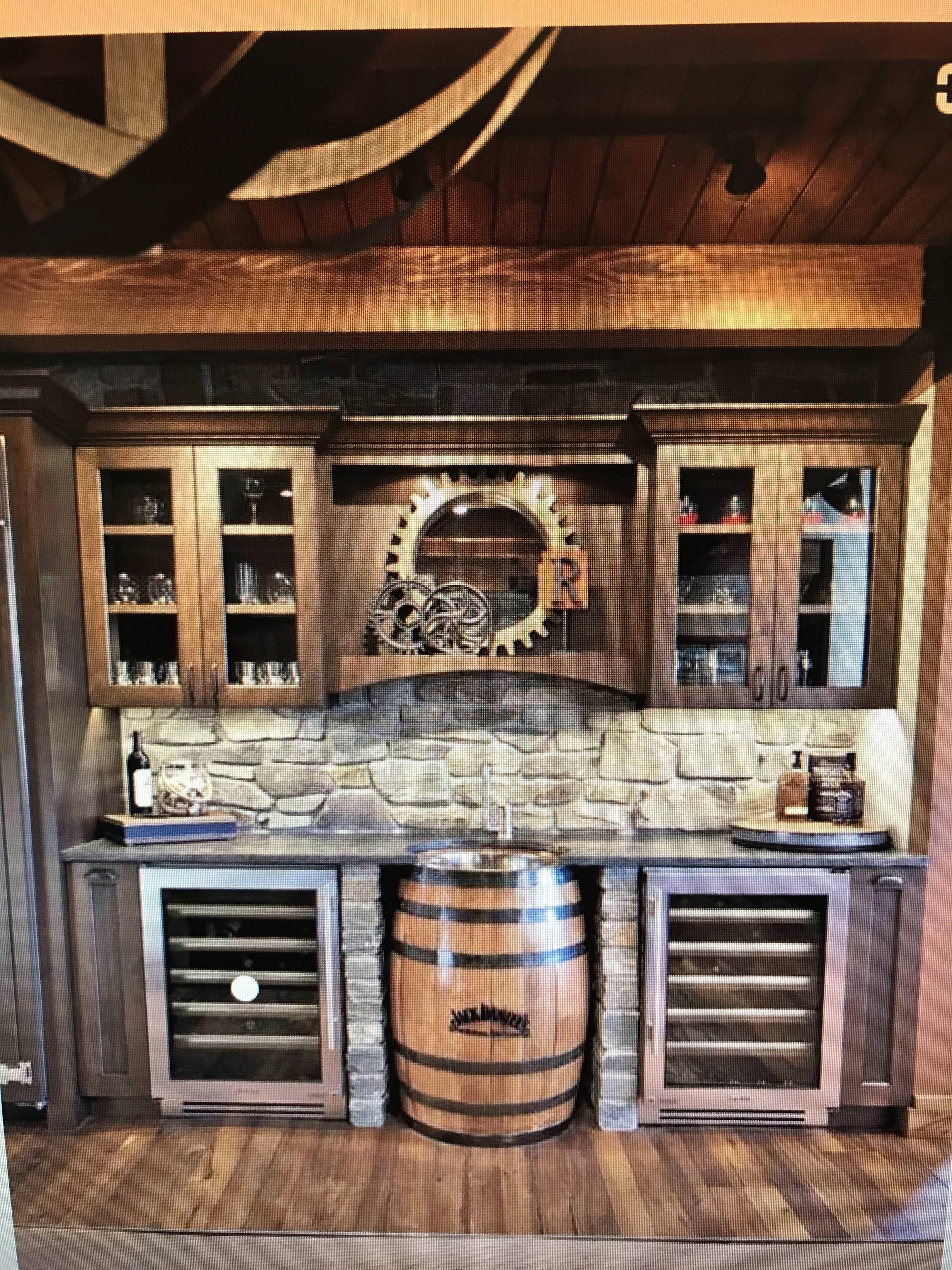 Bar ideas   Kitchen cabinets, Liquor cabinet, Home decor