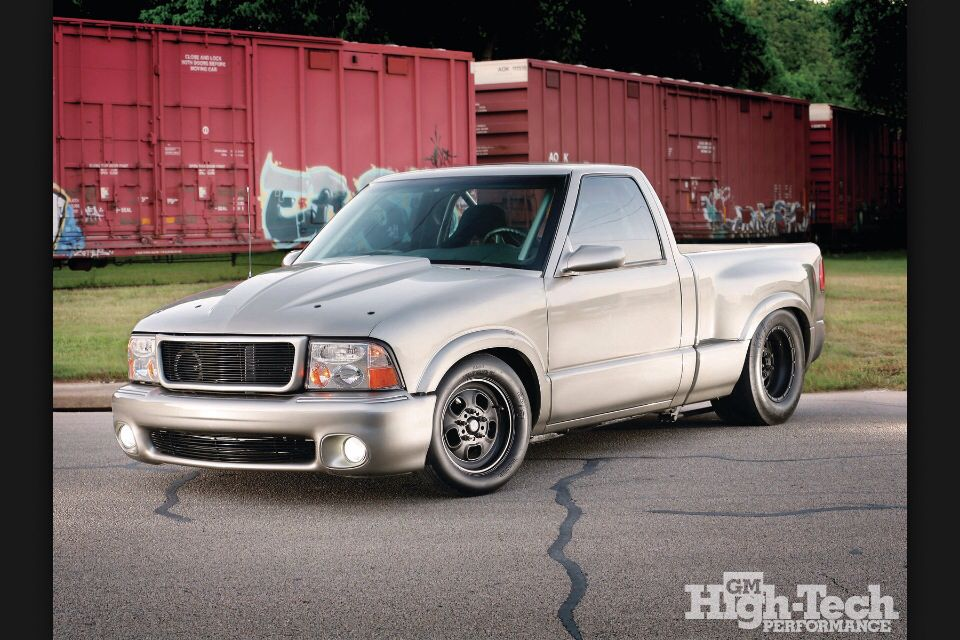 Help with envoy/Sonoma bumper - S-10 Forum | Custom Engine truck