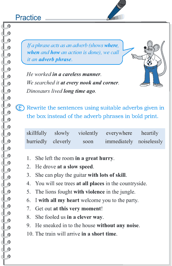 grade 5 grammar lesson 4 the phrase 4 english grammar lessons english grammar exercises. Black Bedroom Furniture Sets. Home Design Ideas