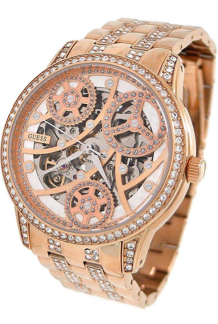 vendita calda autentica ineguagliabile sconto più votato Guess #Watch , GUESS Women's Rose Gold-Tone Elegant Automatic ...
