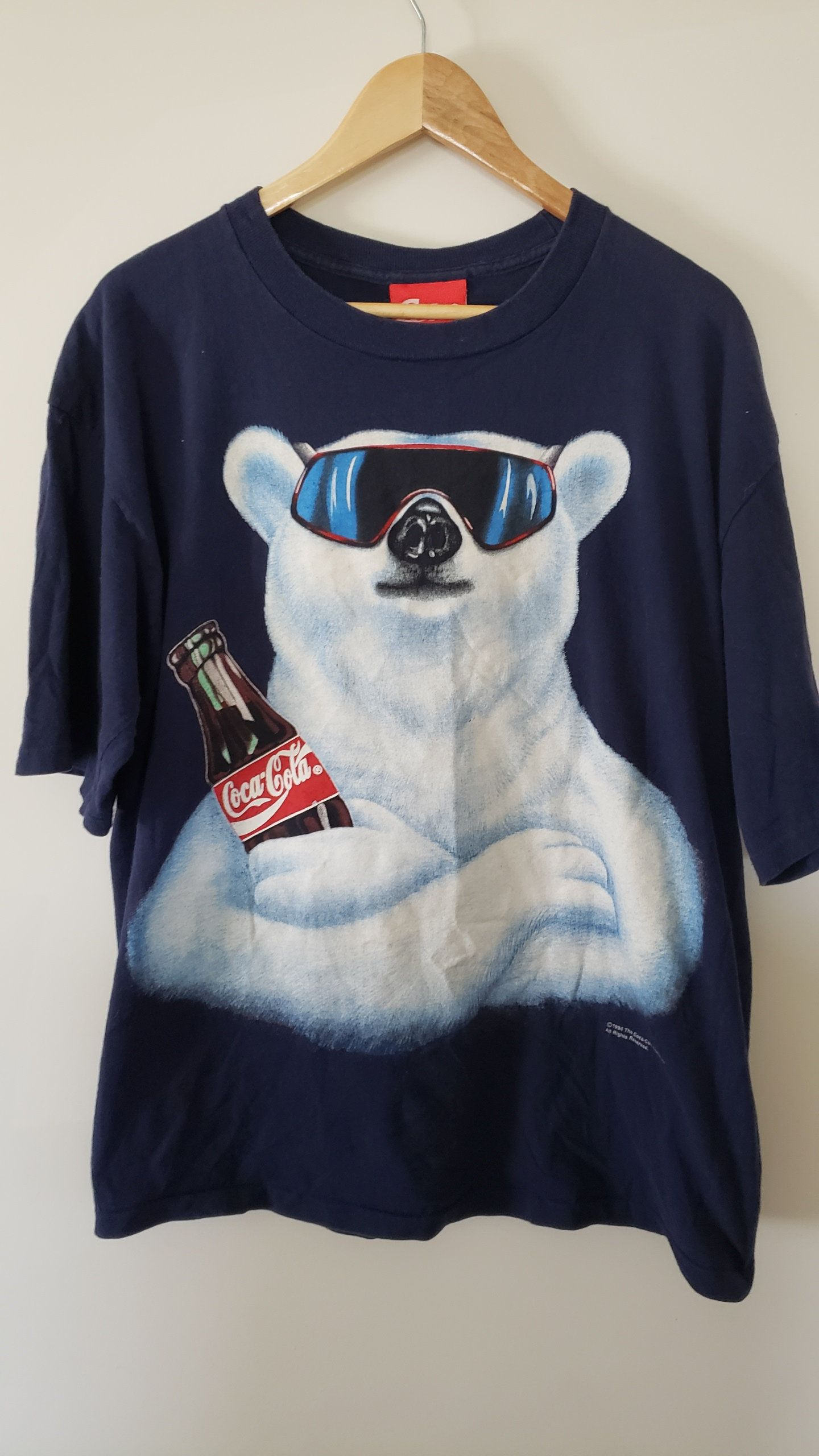 8f6e23d8b Vintage 90's Coca Cola Coke Polar Bear Shirt - Size Large Always Coca Cola  Summer Spring. Hip Hop Advertising Fashion Graphic Tee by RackRaidersVtg on  Etsy