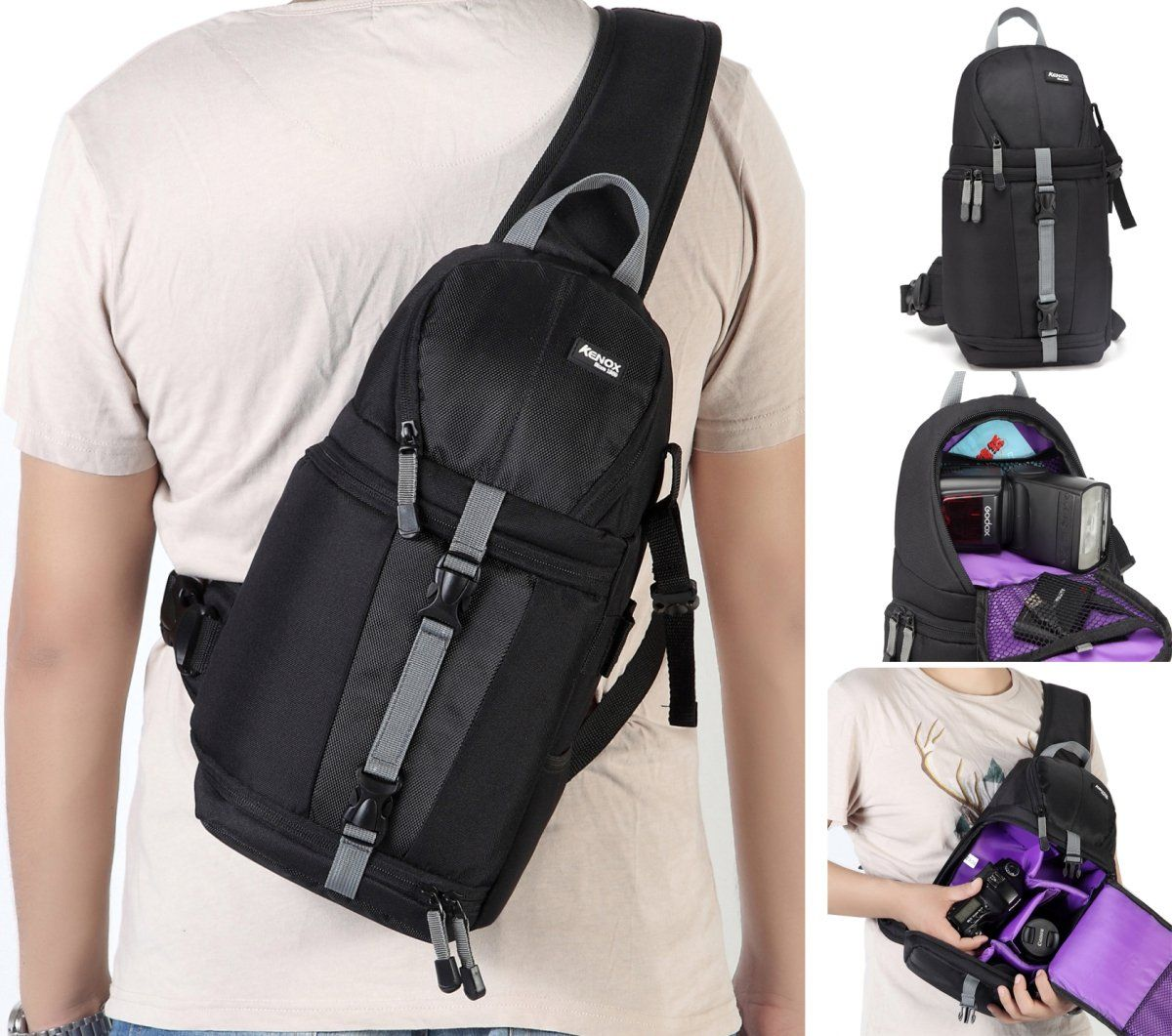 Kenox Camera Sling Backpack For Dslr And Mirrorless Cameras Learn More By Visiting The Image Link It Is Best Camera Backpack Camera Sling Camera Sling Bag