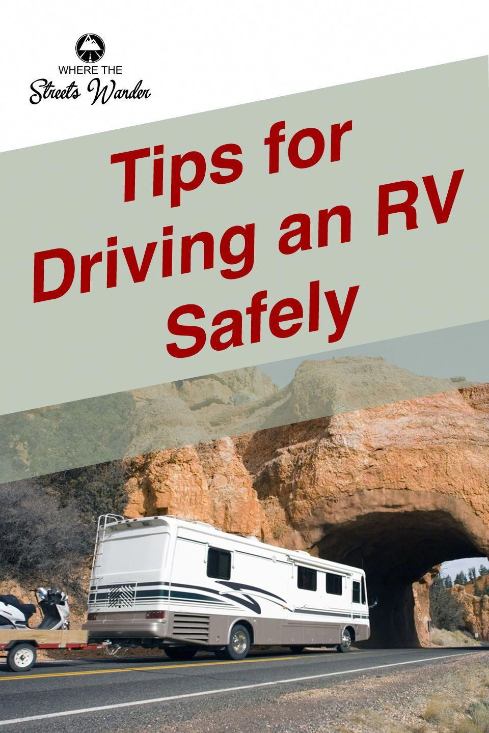 As You Are Probably Aware Rv S Are Big Which Means You Must Take Extra Care When Driving Your Rv Cross Country Learn Recreational Vehicles Rv Driving Safety
