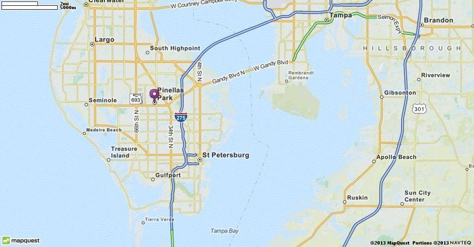 gulfport florida mapquest