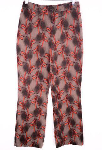 Future Ozbek High Waist Printed Pants Size 8 by Future Ozbek | ClosetDash