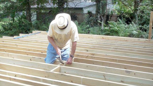 Video How To Build A Deck Frame Diy Building