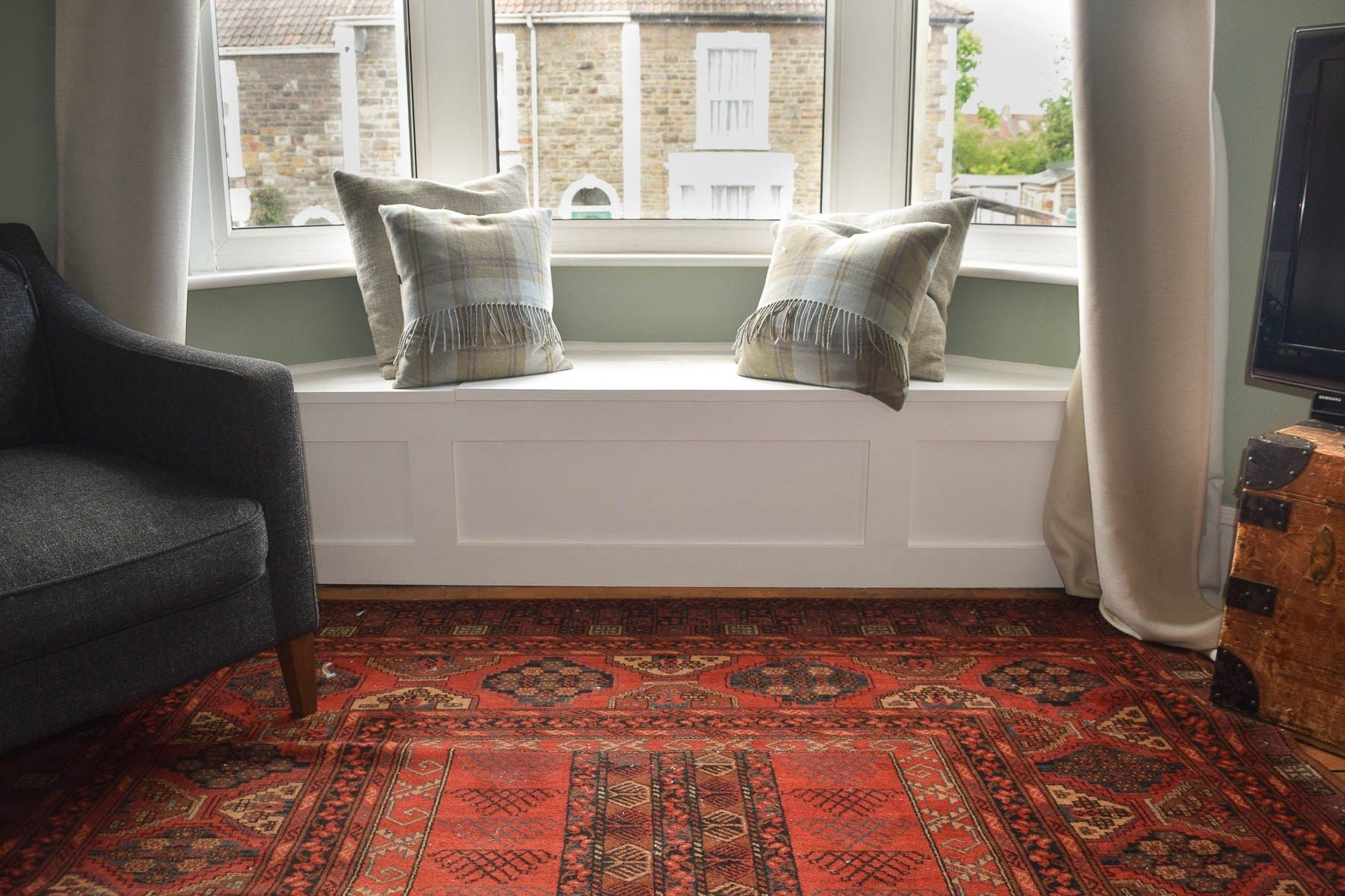 How To Build A Victorian Bay Window Seat With Storage Window