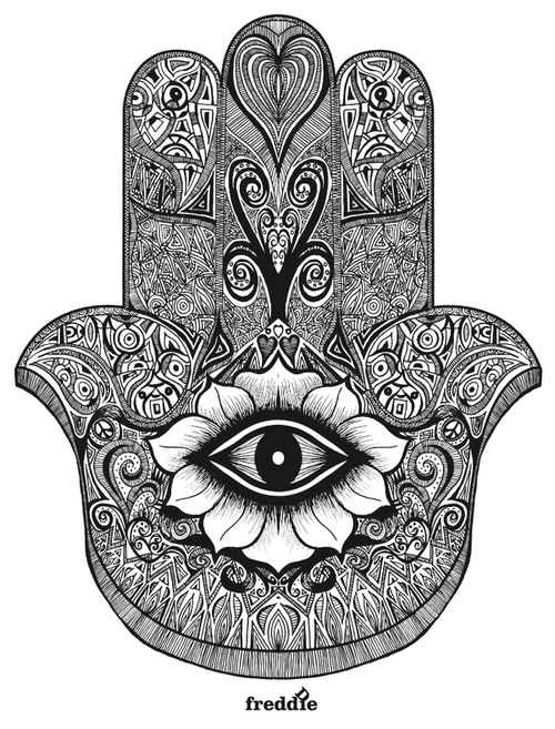 Yoga Hand Symbols Google Search Hamsa Designs Pinterest
