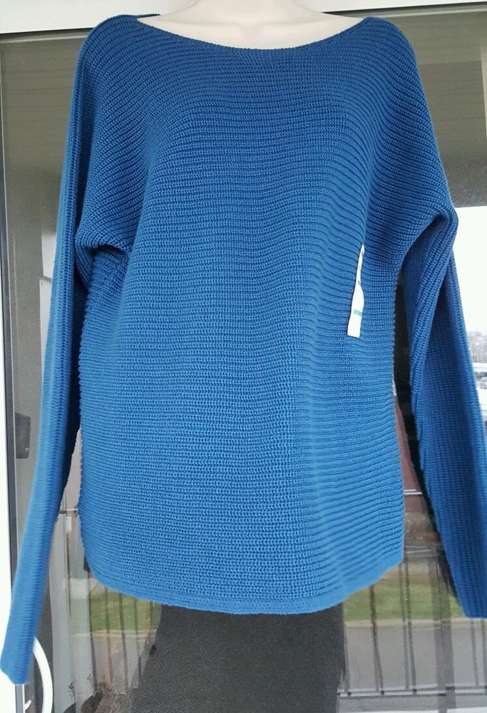 Old Navy Womens Sweater Blue Large New with Tags in Clothing, Shoes & Accessories, Women's Clothing, Sweaters | eBay