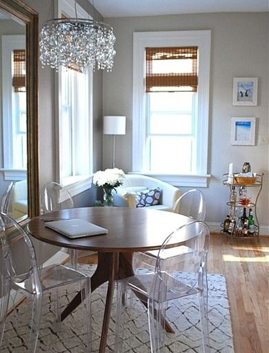 10 Ways To Live Large In A Very Small Space Dining Room Small