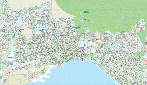 Visit Greece City Of Thessaloniki Map Visiting Greece