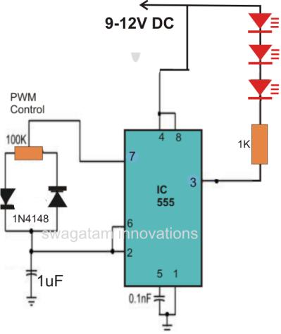 Making A Pwm Based Led Strobe Light Led Diagrama De Circuito