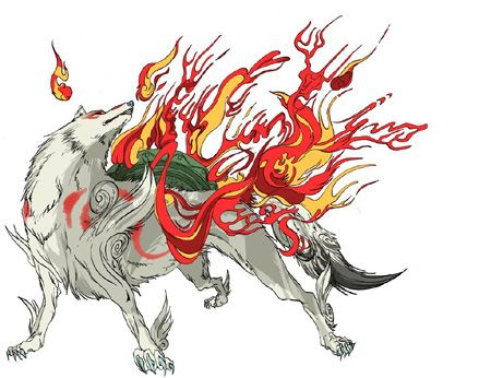 Did You Know About The Japanese Werewolf Amaterasu White Wolf