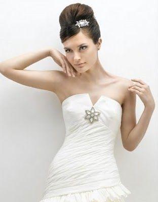 Accesorios vestido de novia strapless