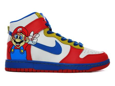 12 Best Super Mario Nike Dunks images | Nike dunks, Nike
