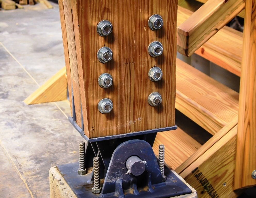 Estructuras en madera detalles arq pinterest - Estructura de madera laminada ...