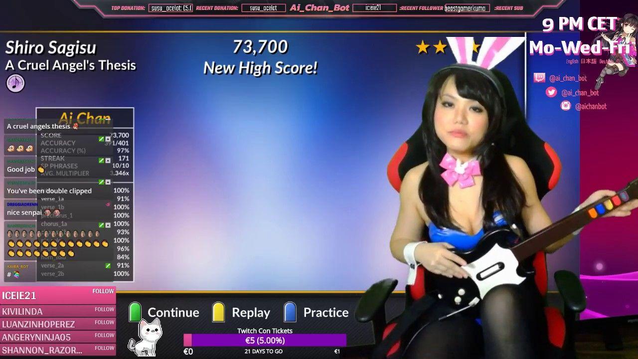 Cruel Angel Thesis Zankoku na Tenshi no These Guitar Hero