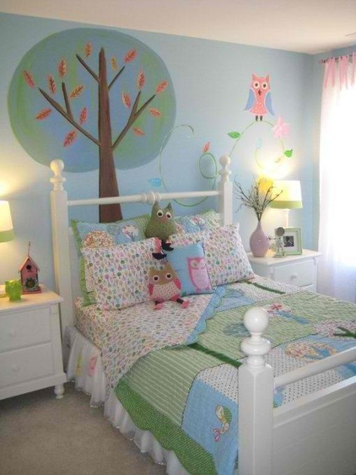 Superbe Kids Owl Bedroom Set...soo Cute. Not Real Crazy About The Owls But They Are  Kinda Cute And Love This Color Pallet.