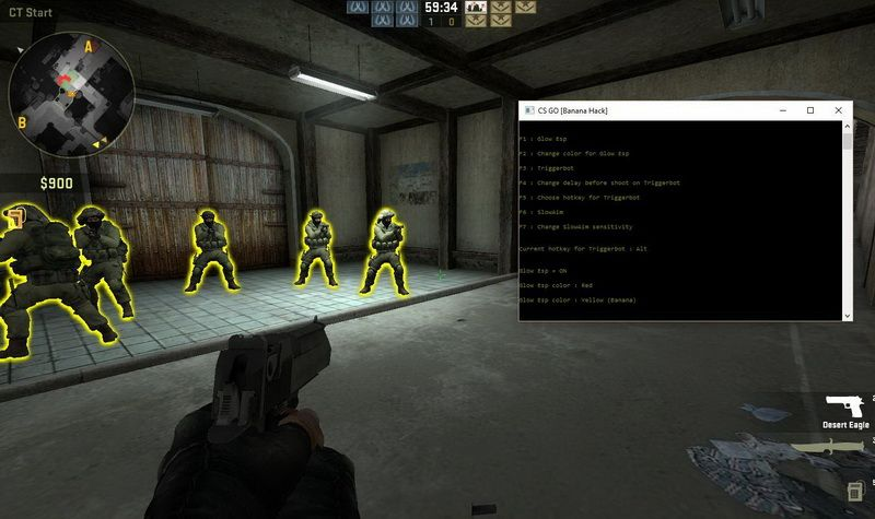 УСТАРЕЛ CS GO Banana Hack v3.3