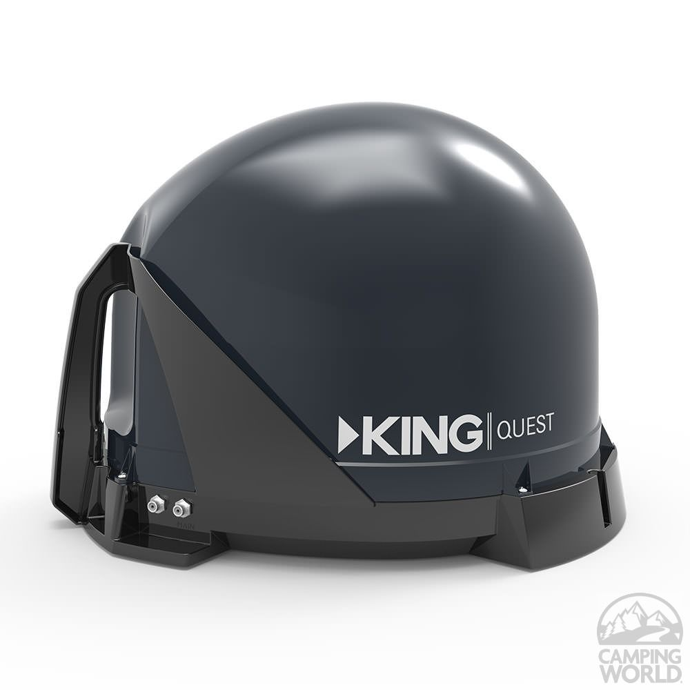 King quest automatic satellite for directv rv