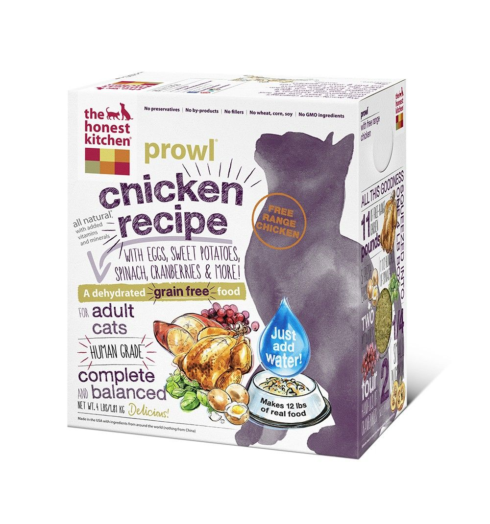 Dehydrated Grain Free Chicken Recipe (Prowl) Canned