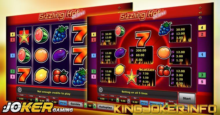 Review Slot Sizzling Hot Joker Gaming Joker, Buah prem