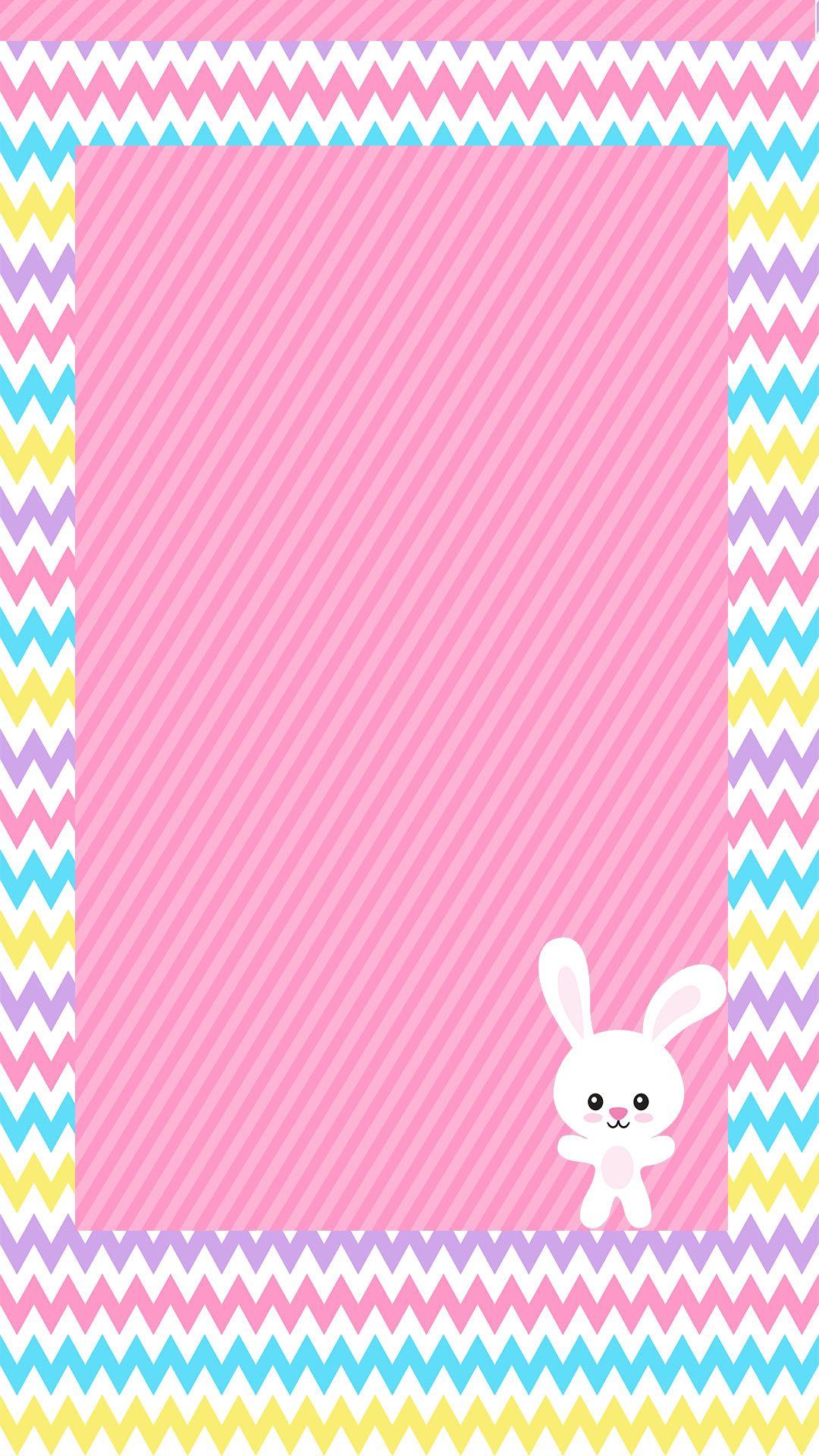 Pastel Freebie 4 Bunny wallpaper, Android wallpaper