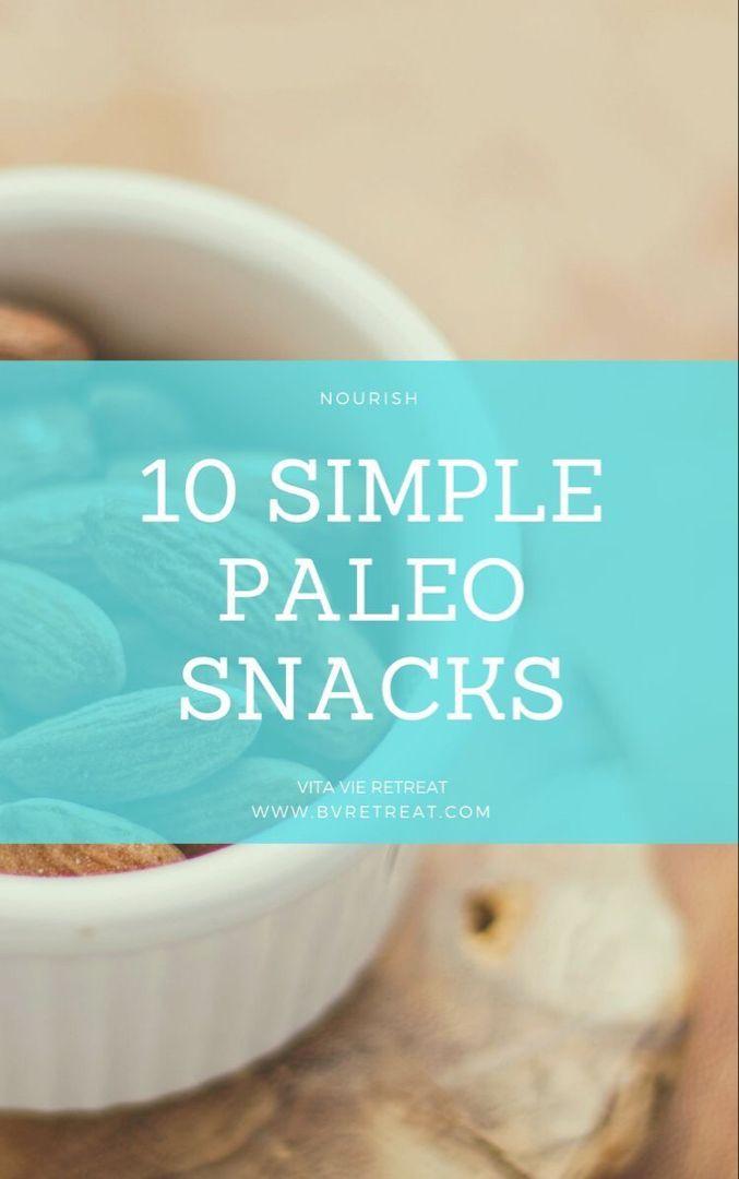 10 Simple Paleo Snacks images