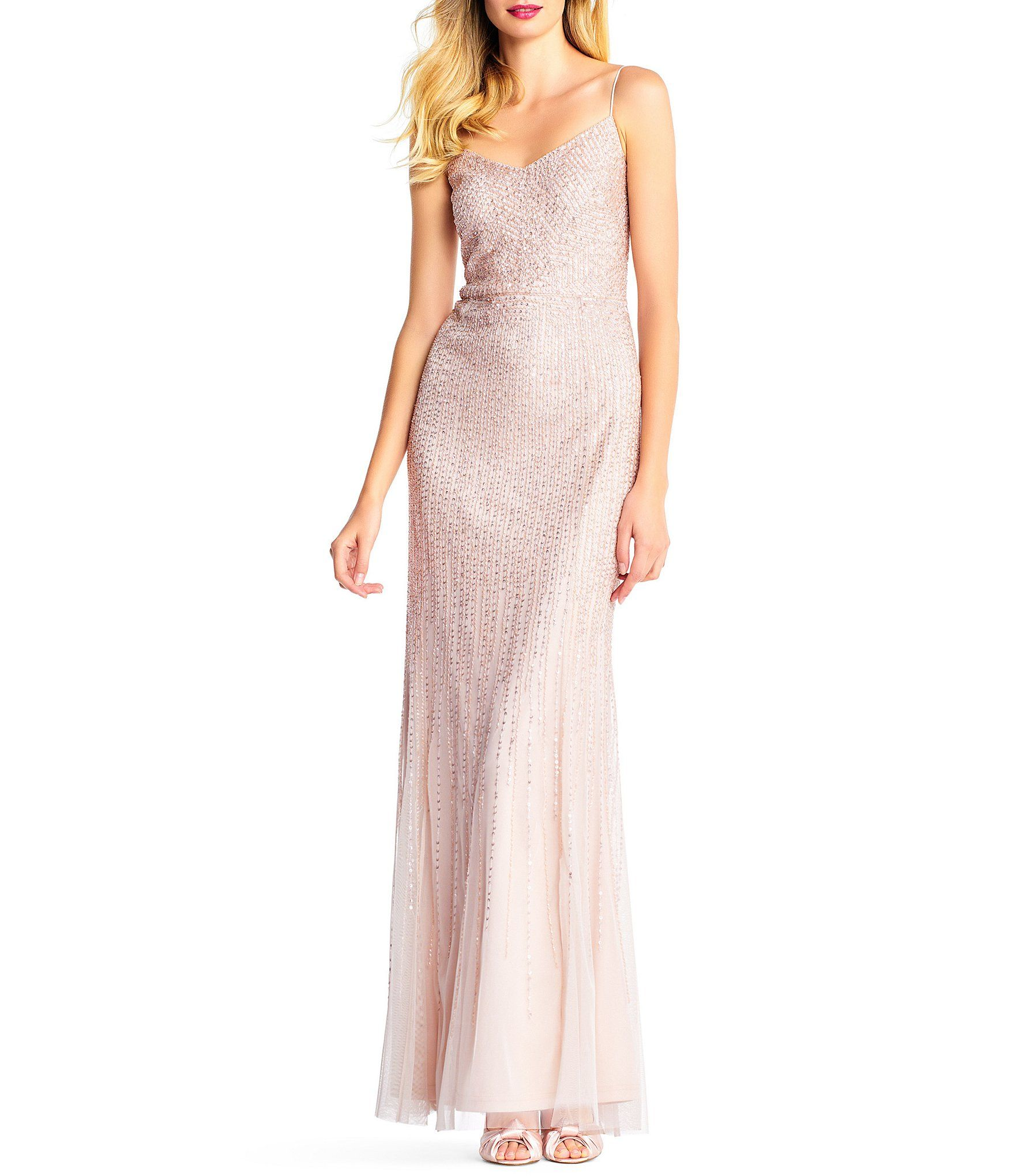 c0adfd5ffda Shop for Adrianna Papell All Over Beaded Dress at Dillards.com. Visit  Dillards.com to find clothing
