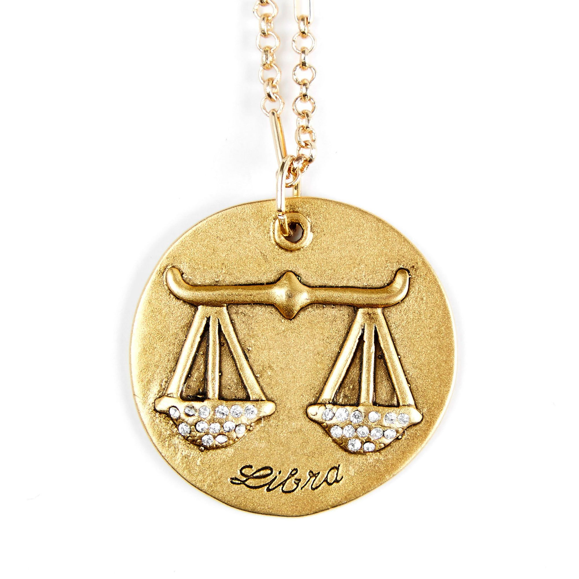 zodiac kith cu star necklace gol products libra silver gold wish kin wis collection sterling upon plated lib a