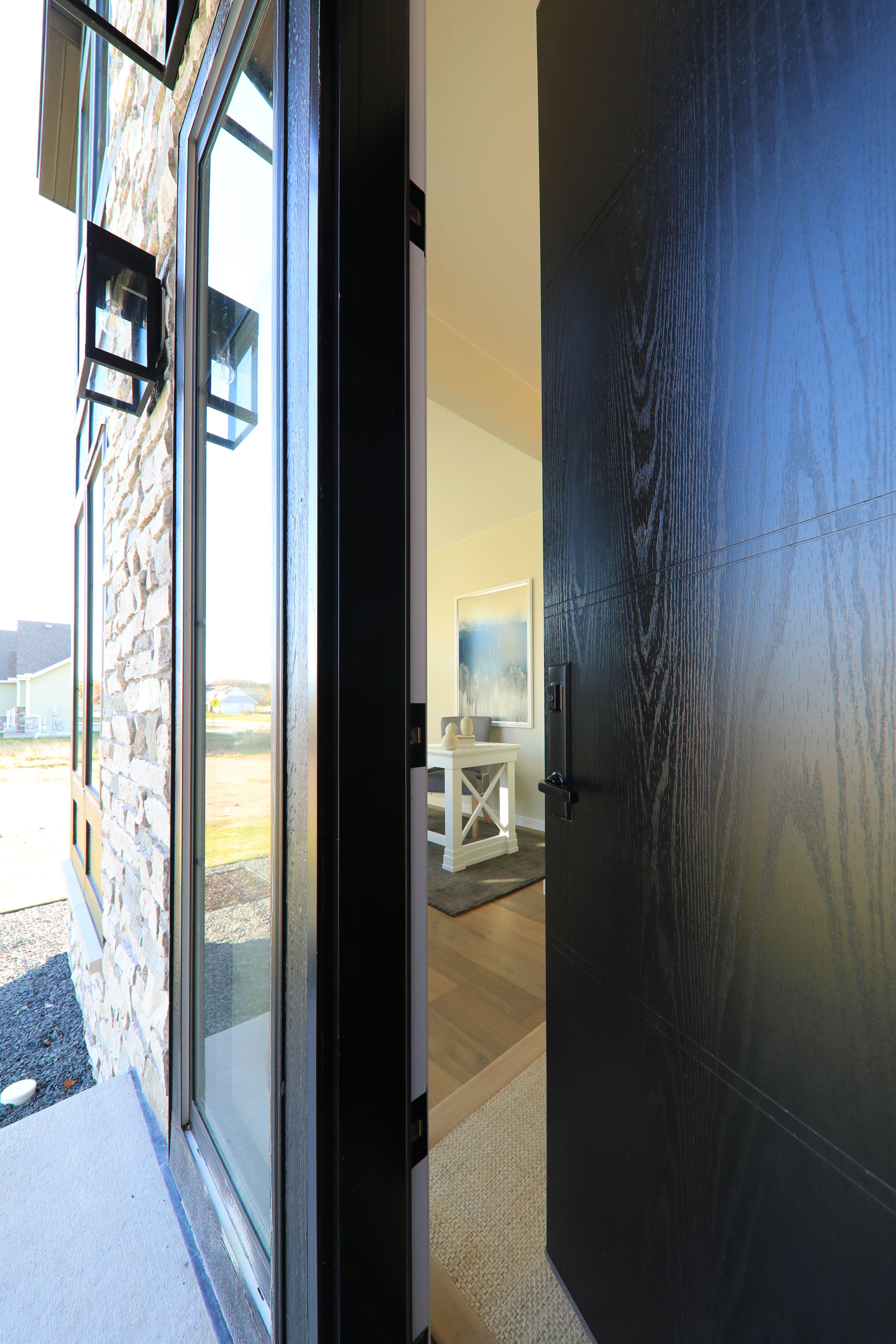 A Modern Take On An Oak Door In 2020 Fiberglass Exterior Doors Oak Doors Exterior Doors