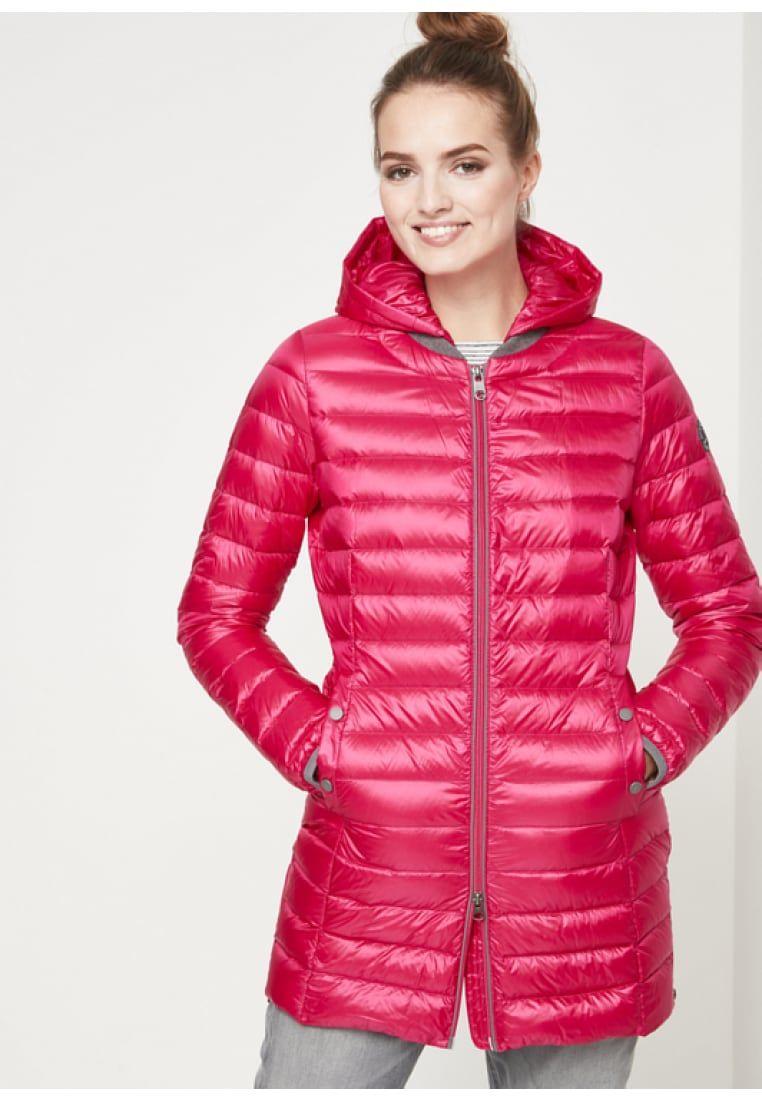 huge discount a3802 1db73 MIT ABNEHMBARER KAPUZE - Daunenmantel - pink @ Zalando.de ...