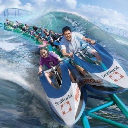 Coming to @seaworldtexas in 2017! Wave Breaker: The Rescue Coaster! #rollercoaster #seaworld #texas #sanantonio #themepark #seaworldsanantonio #seaworldtexas