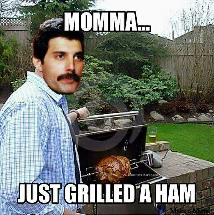 Fun Song Meme : Queen freddie mercury bohemian rhapsody humor random