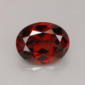 Piedra preciosa granate hessonita