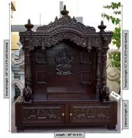 Wood Temple Mandir Designs For Home With Prices House Wooden Carved Teakwood Ideas For The