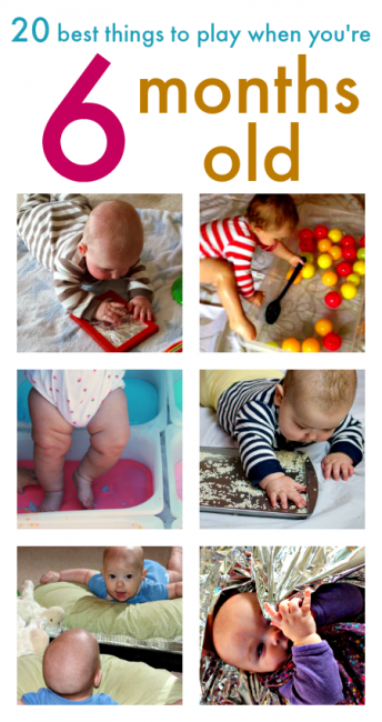 20 Fun Baby Play Ideas For 6 Month Olds Babyy Tips Tricks