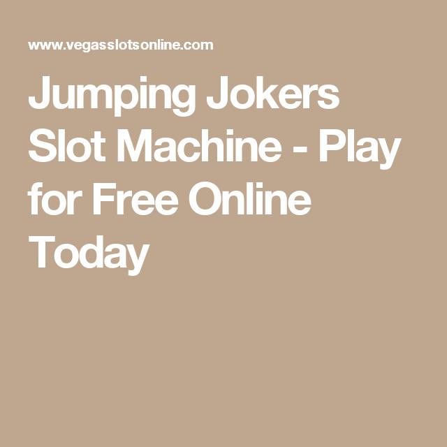 Jumping Jokers Slot Machine