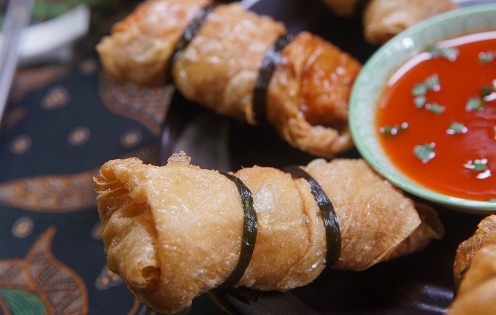 Resep Lumpia Udang Kulit Tahu Lumpia Semarang Makanan Masakan